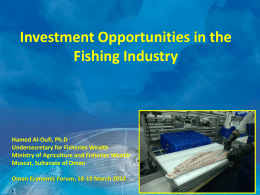 The Fisheries Sector