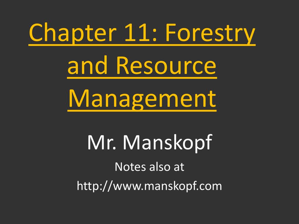 renewable resource management worksheet answers