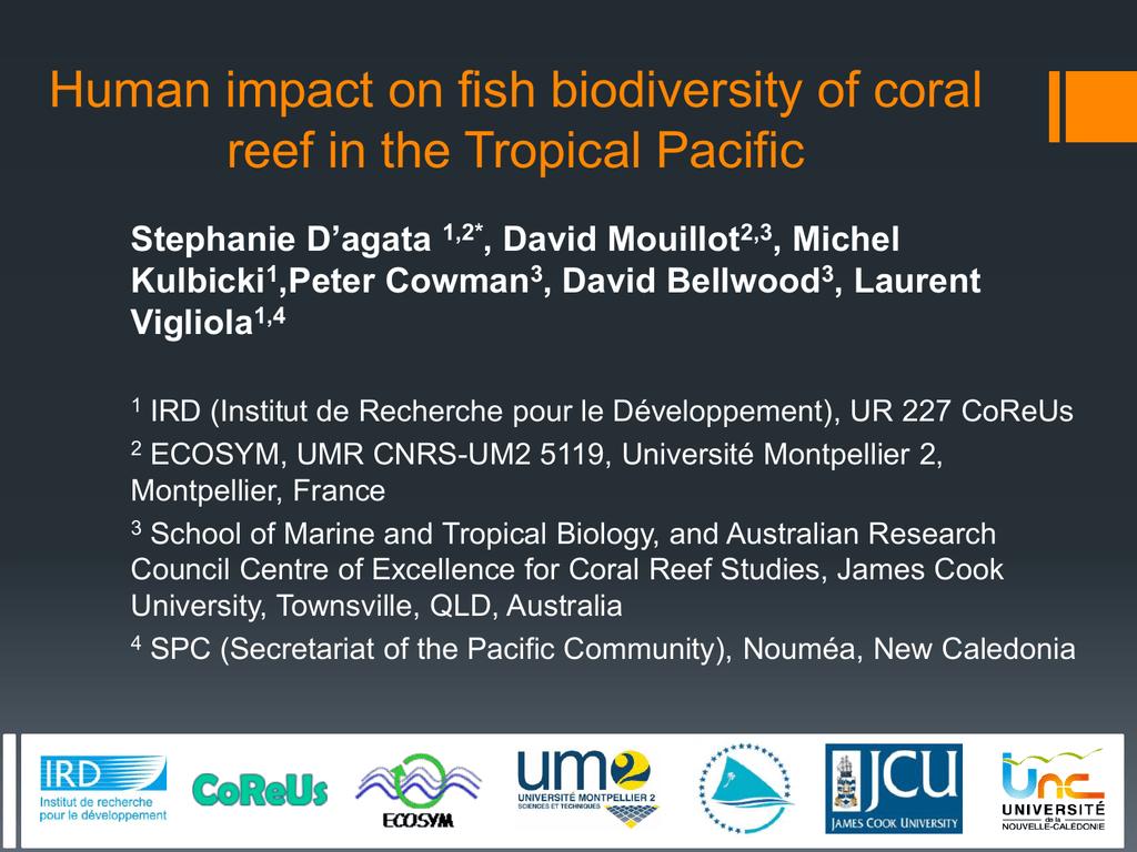 1200 Dagata S 12th International Coral Reef Symposium