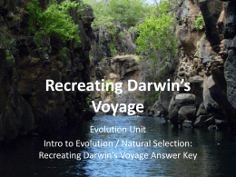 13-02-12 Recreating Darwin`s Voyage Answer Key