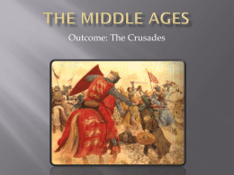 the middle ages crusades 2014