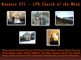 LPD Church of the Week