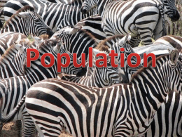 Population - cashmerebiology