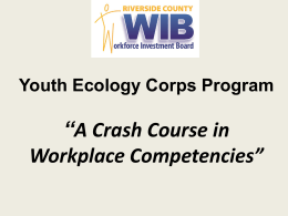 WIB Youth Programs - California Workforce Association