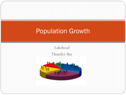 Population Growth