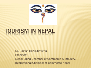 Tourism in Nepal - Nepal China Chamber of Commerce & Industry