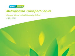 power point here - slide 27 - Metropolitan Transport Forum