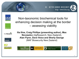 Non-taxonomic biochemical tools for enhancing