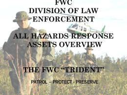 FWC Division of Law Enforcement
