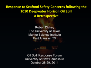 Retrospective on the Multiagency Response to Seafood Safety
