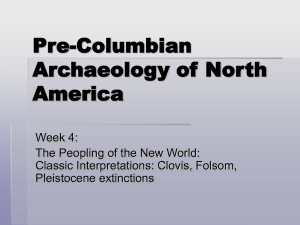 Pre-Columbian Archaeology of North America