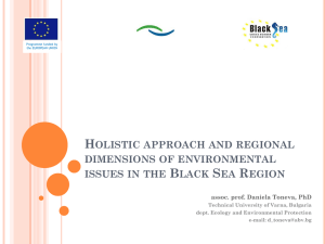 Holistic approach and regional dimensions of environmental issues
