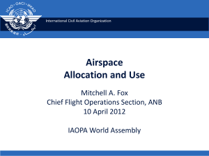 Airspace Allocation and Use