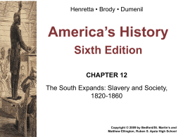 Chapter 12 Henretta Power Point