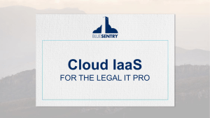 Why Every Law Firm Should be Using AWS