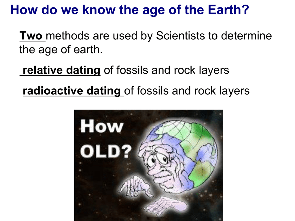 how do scientists use radiometric dating to determine the age of a rock