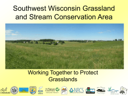 What is Grassland - Southwest Wisconsin Grassland & Stream