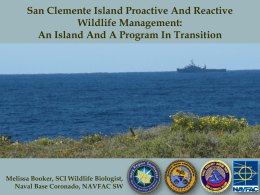 San Clemente Island Natural Resource Management