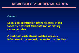Microbiology of Caries