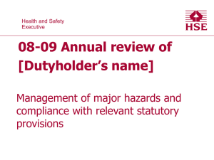Dutyholders 08-09 annual review
