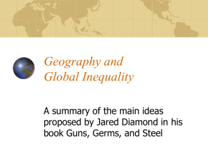 Geography and Global Domination