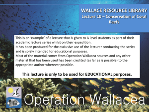 L10 Conservation of Coral Reefs ppt