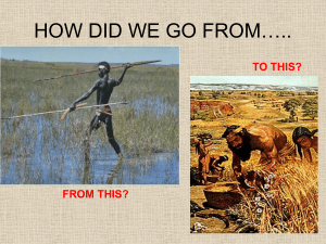 HOW DID WE GO FROM…..