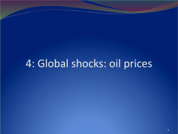 Global interactions: oil shocks and currency crises