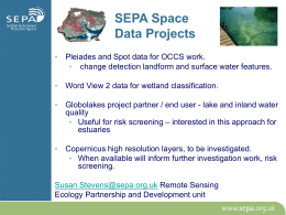 SEPA Space Data Projects