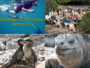Galapagos field course - Florida Institute of Technology