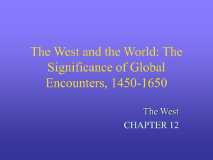 The West and the World: The Significance of Global