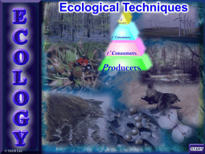 2. Ecological Techniques