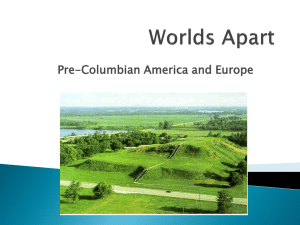 Pre-Columbian America and Europe