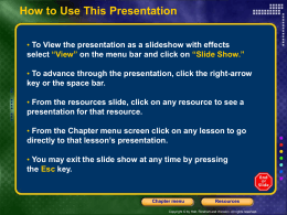 Chapter 14 PowerPoint File