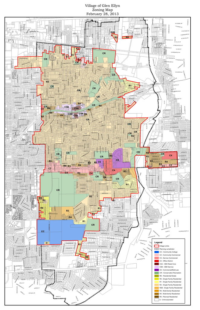 Village of Glen Ellyn Zoning Map February 28, 2013 on rancho cucamonga map, canyon crest map, downtown l.a. map, moreno valley map, banning map, desert cities map, south coast metro map, fontana map, sacramento map, mission gorge map, bernardino county map, ventura county map, santa clara map, riverside map, palm springs map, downieville map, mt. san antonio map, sonoma co map, brigham city map, imperial valley map,