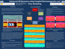 Enhanced Oil Recovery using Couple Electromagnetics and Flow
