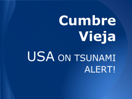 3. PPT Resource Cumbre Vieja USA Tsunami alert