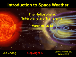 Interplanetary Transients