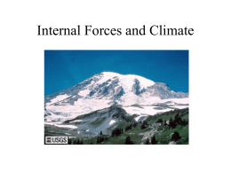 Internal Forces and Climate