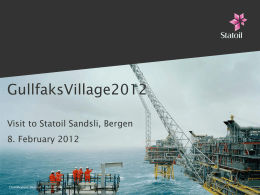 GullfaksVillage2010