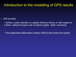 Modeling_GPS_Velocities - GeoWeb