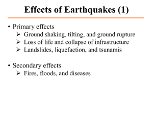 Presentation2 Earthquakes