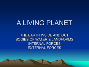A LIVING PLANET