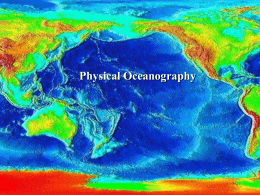 Features of the Ocean Basins