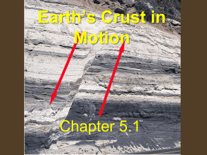 Earth`s Crust in Motion