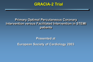 The GRACIA 2 Trial - Clinical Trial Results