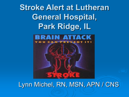 Stroke Response Team