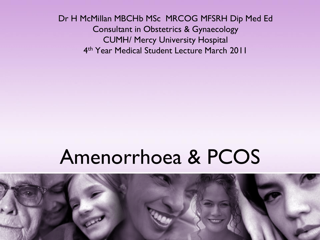 amennorhea and pcos