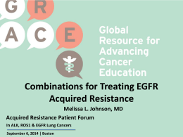 Combinations for Treating EGFR Acquired Resistance