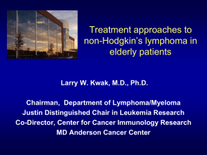Therapy of Relapsed or Refractory Aggressive Lymphomas